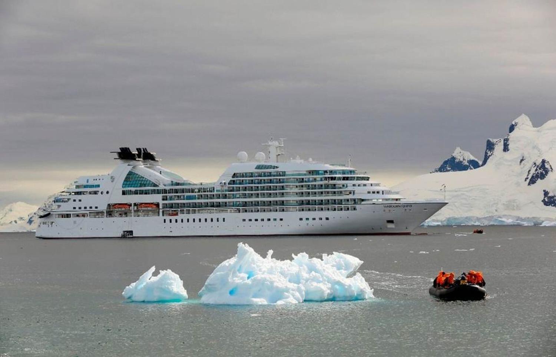 Seabourn Quest in der Antarktis © Seabourn