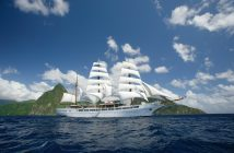 Die Sea Cloud II unter Segeln © Sea Cloud Cruises
