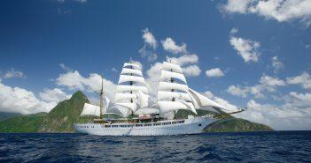 Die Sea Cloud II unter Segeln © Sea Cloud Cruises