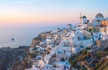 Ein Highlight im Mittelmeer: Santorini © NCL