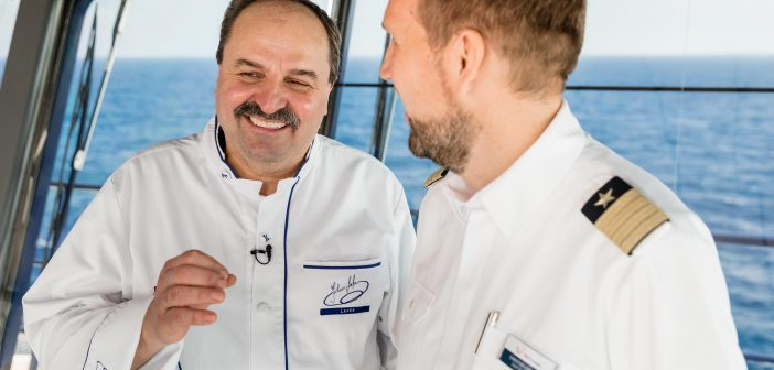 Johann Lafer ist kulinarischer Botschafter der Mein Schiff Herz