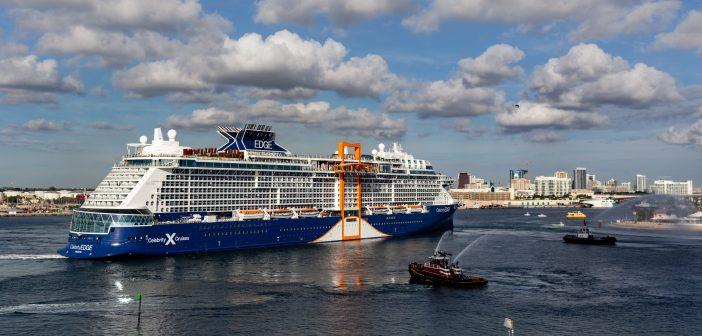 Celebrity Cruises feiert die Ankunft von Celebrity Edge