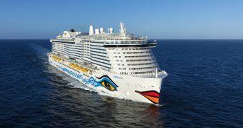 AIDAnova erhält als erstes Kreuzfahrtschiff den Blauen Engel