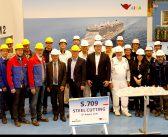 Brennstart für nächstes AIDA LNG-Kreuzfahrtschiff auf der MEYER WERFT