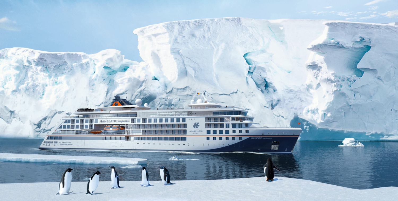 Hapag-Lloyd Cruises tauft die HANSEATIC inspiration in Hamburg