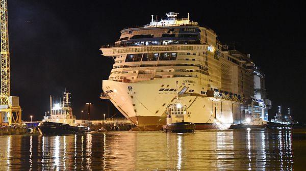 Gäste von MSC Cruises erleben die EXPO 2020