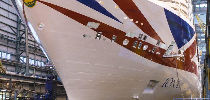 Schiffstaufe Iona als Auftakt zur Nordeuropa-Kreuzfahrt