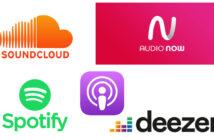 Auf vielen Kanälen und Apps zu hören